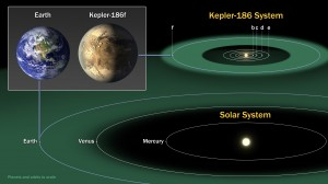 Comparison to the Solar System.  Image Credit:  NASA Ames/SETI Institute/JPL-Caltech