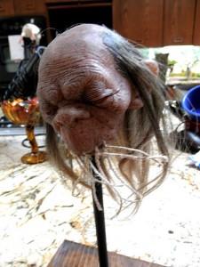 "Tom Kuebler ""Shrunken Head"" c. 2012.  No, it's not anyone I knew."