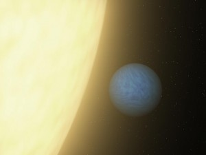 Artisti's conception of 55 Cancri e, NASA.