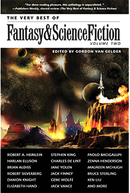 Figure 1 - F&SF Very Best Vol. 2 Cover by Thomas Canty