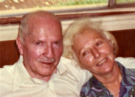 Figure 2 - Robert and Virginia Heinlein (possibly in Tahiti)