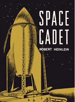 Figure 3 - Space Cadet cover by Clifford Geary
