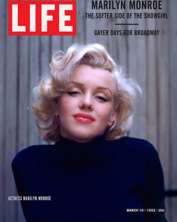 Figure 4 - Fake Life Cover with Marilyn Monroe