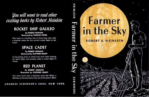 Figure 4 - Farmer in the Sky cover by Clifford Geary