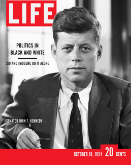 Figure 5 - Fake Senator Kennedy Life Cover
