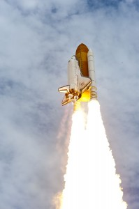 STS-135 Liftoff July 8, 2011