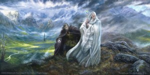 """Matt Stewart """"Voice of Isengard"""" Box cover"""