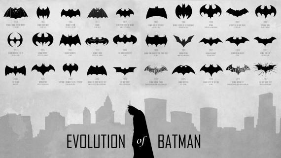 BatmanSymbolEvolution