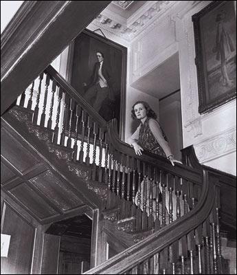 Daphne du Maurier in Menabilly
