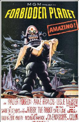 Figure 1 - Forbidden Planet poster
