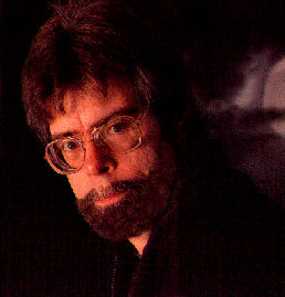 Figure 1 – Stephen King as lumberjack