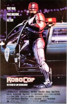 stymied. Figure 2 - Robocop 1987 poster