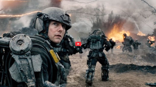 Figure 3 - Tom Cruise - Edge of Tomorrow