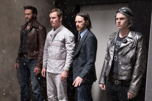 Figure 4 - Wolverine, Magneto, Professor X and Quicksilver in Pentagon