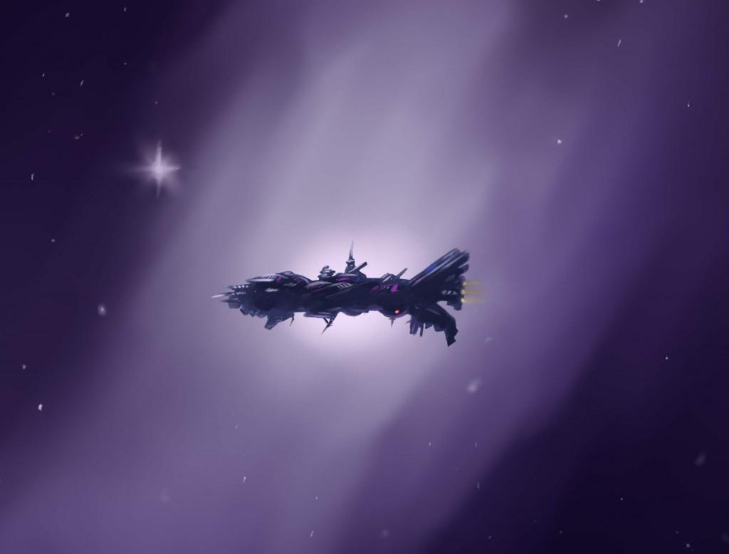 MDJackson_Spaceship 1