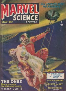Marvel Science Stories May 1951 cover
