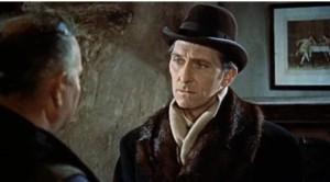 Peter Cushing as Van Helsing