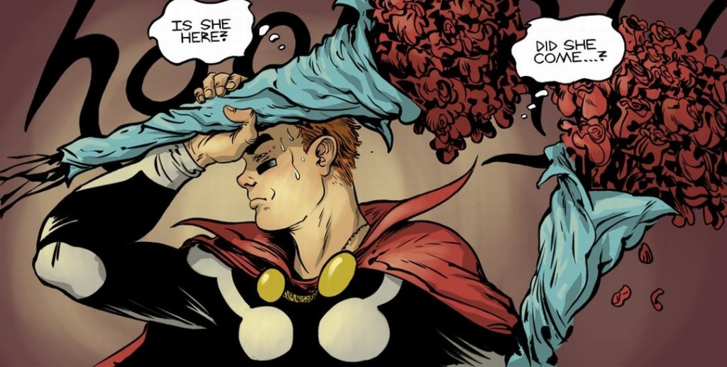 Art by Paul Pope, Colors by Shay Plummer