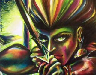 Asni's Art Blog: Warriors, Hunters, Healers, and Death