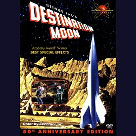 Figure 1 - Destination Moon DVD Case