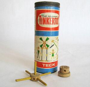 Figure 1 - Tinkertoy set circa 1950s