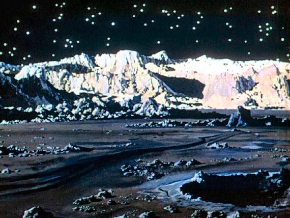 Figure 3 - Bonestell Moon Matte