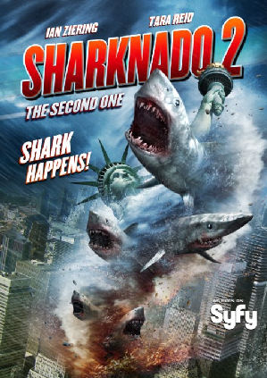 Figure 4 - Sharknado 2 poster