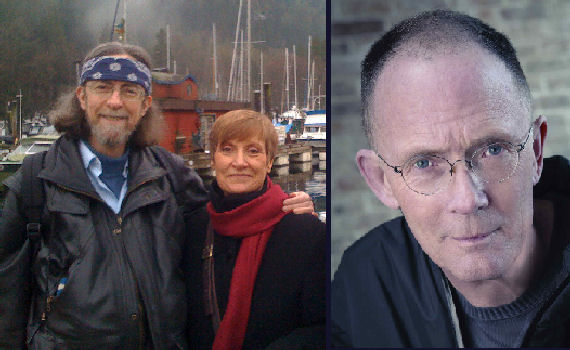 Figure 6 - Spider and Jeanne and William Gibson