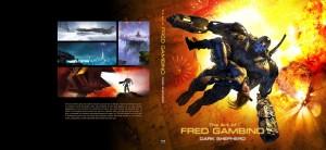 """Fred Gambino """"The Art of Fred Gambino: Dark Shepherd"""" Limited Edition wraparound cover, Titan Books, 2014"""