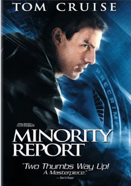 Minority Report US DVD cover