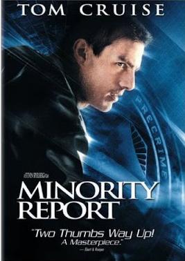 Minority Report US DVD cover