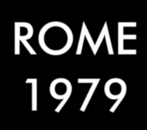 Utopia Rome 1979