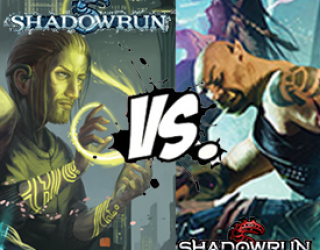 Shadowrun 20th Anniversary vs. 5th Edition