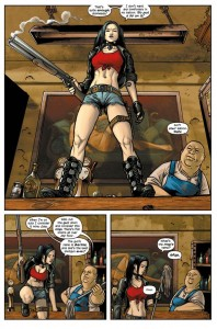 Sally of the Wasteland 001 Strip2