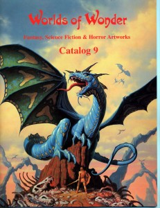 Catalog #9, 1997.  153 artworks in full color, 44 pp, cover by Romas Kukalis