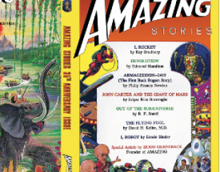 TRULY AMAZING NEWS! Amazing Stories 35th Anniversary Cover Reveal