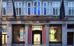 Galleries on New Bond St, Bruton St. and the Mayfair and St. James area of London are neat for high-end gallery hopping and keeping up with  international art scene