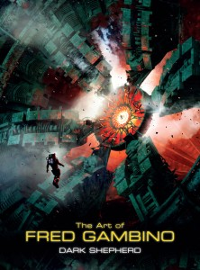 """Fred Gambino """"The Art of Fred Gambino: Dark Shepherd"""" cover, Titan Books, 2014"""