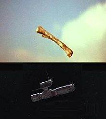 2001: A Space Odyssey jumps thousands of years in a single cut - A.I. echoes the effect