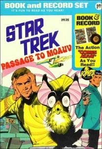 Star Trek book and record set