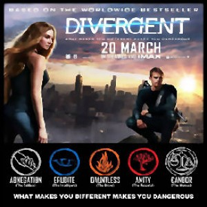 MOVIE REVIEW(s): DIVERGENT and an oldie
