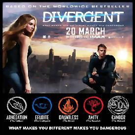 Figure 1 - Divergent Movie Poster