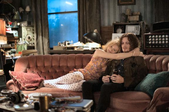 Figure 7 - Mia Wasikowska as Ava and Anton Yelchin as Ian