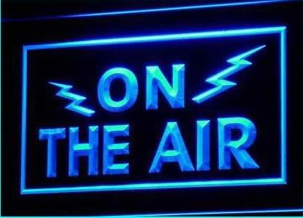 ON THE AIR Radio Recording Studio Light Signs