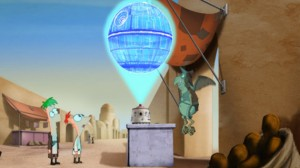 Phineas and Ferb - Death Star plans