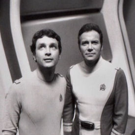 Figure 2 - Gerrold and Shatner