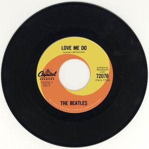 Figure 3 - Canadian Love Me Do 45