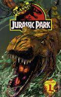 Jurassic Park Graphic Novel cover