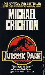 Jurassic Park Novel cover