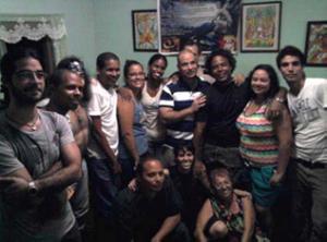 Organizadores y colaboradores del proyecto DIALFA en plena reunión